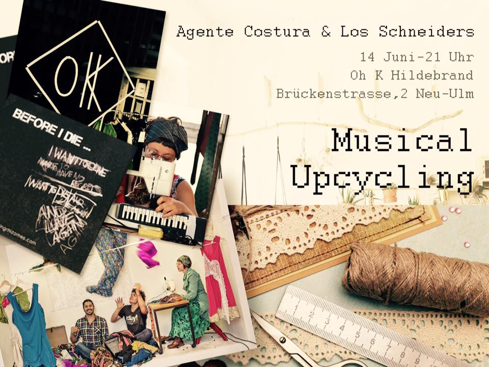 Agente Costura & Los Schneiders: Musical Upcycling
